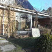 Fam. Veenstra, Wommels, verbouw/nieuwbouw garage