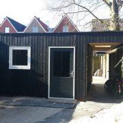 Fam. Haagsma, Sneek - bouw garage